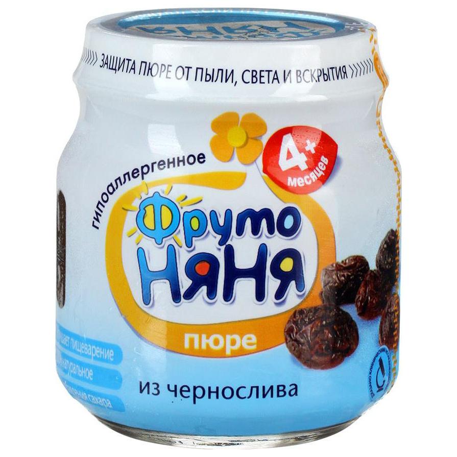 Пюре фруктовое ФрутоНяня из чернослива с