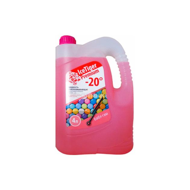 Жидкость для стеклоомывателя зимняя Ice Tiger Premium