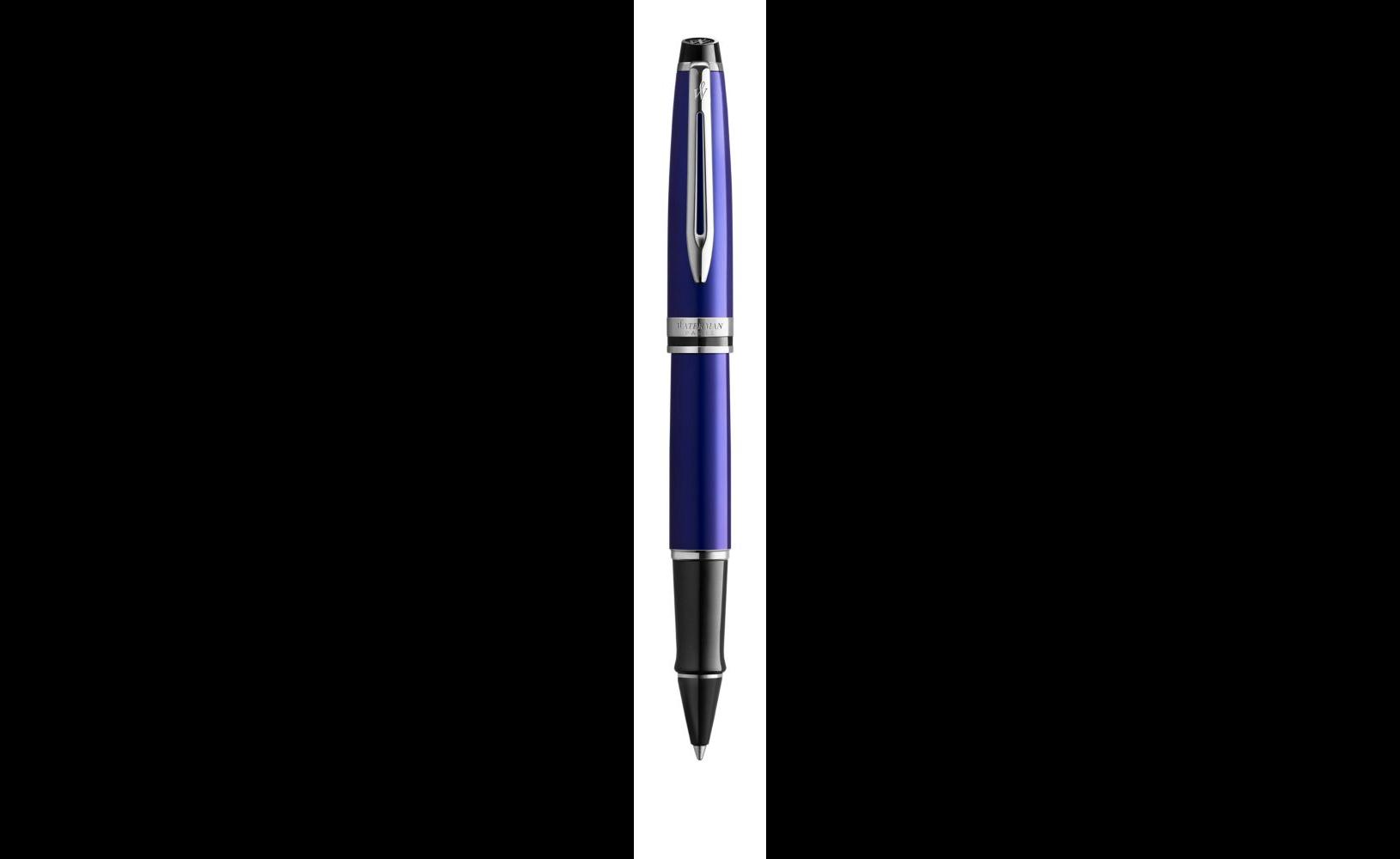Ручка-роллер Waterman Expert 3, цвет: Blue CT, цвет чернил: черный F 2093458