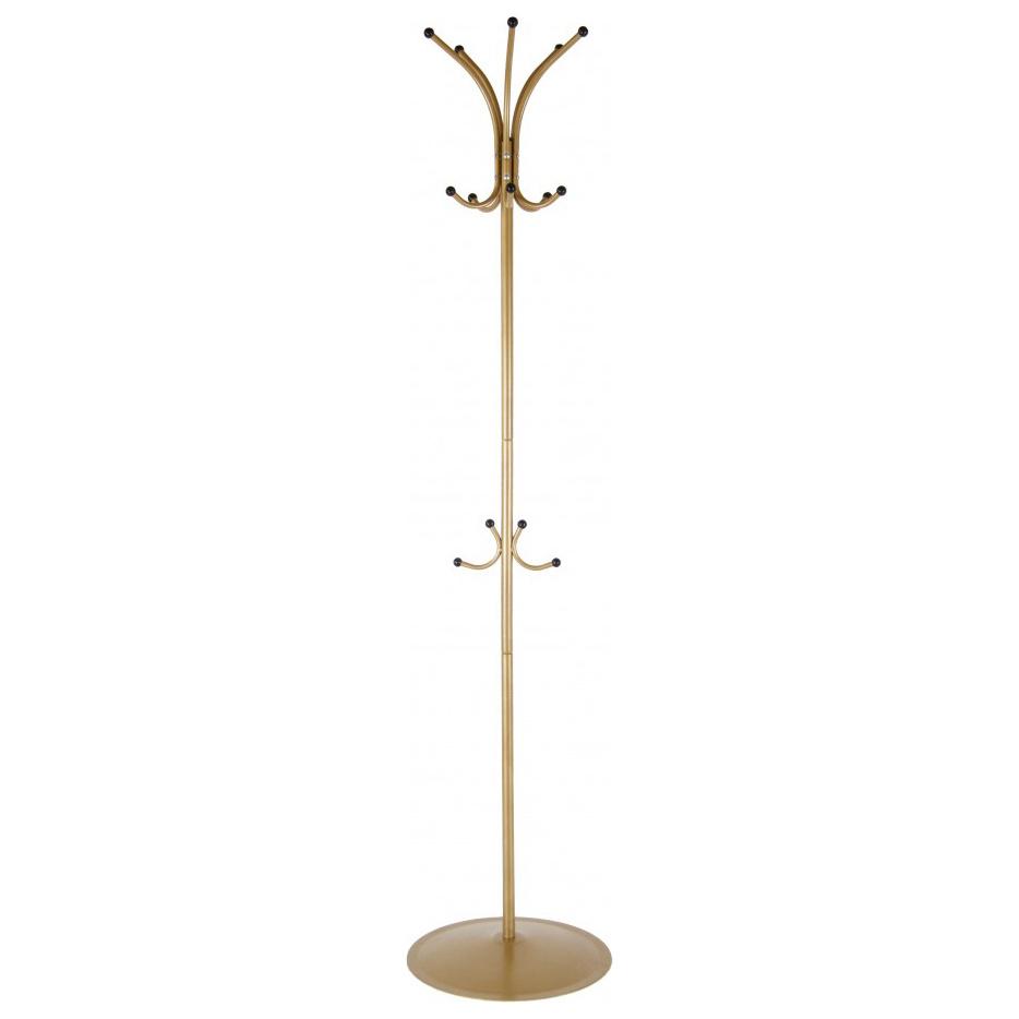 Вешалка Мебелик напольная Пико 4 Золото