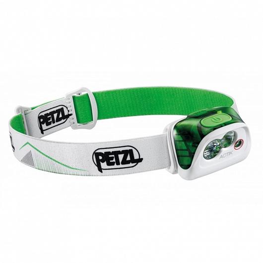 Фонарь налобный PETZL ACTIK зеленый