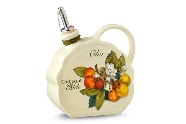 Бутылка для масла Итальянские фрукты 550 мл Nuova Cer 34072