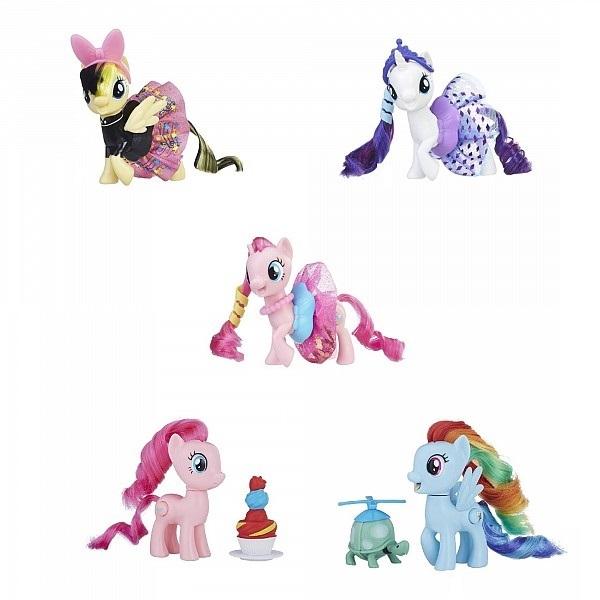 Фигурка Hasbro My little Pony Пони во вращающихся платьях Songbird Serenade в ассортименте фото