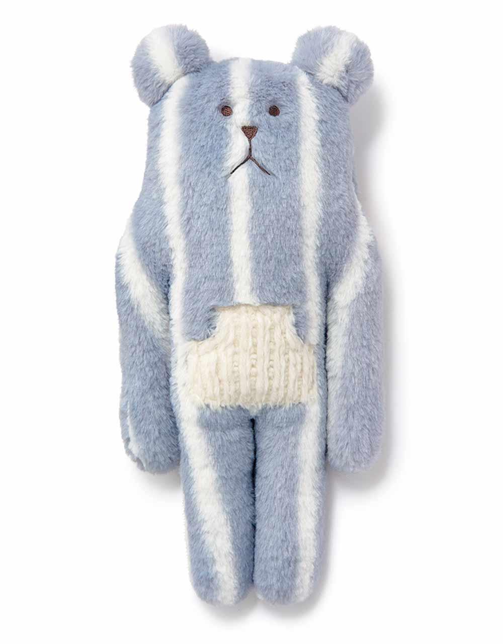 Мягкая игрушка Craftholic медведь French STRIPE SLOTH, S