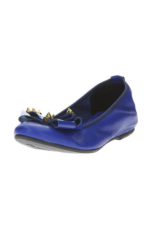 Балетки женские Alessandro 478 синие 37 RU.