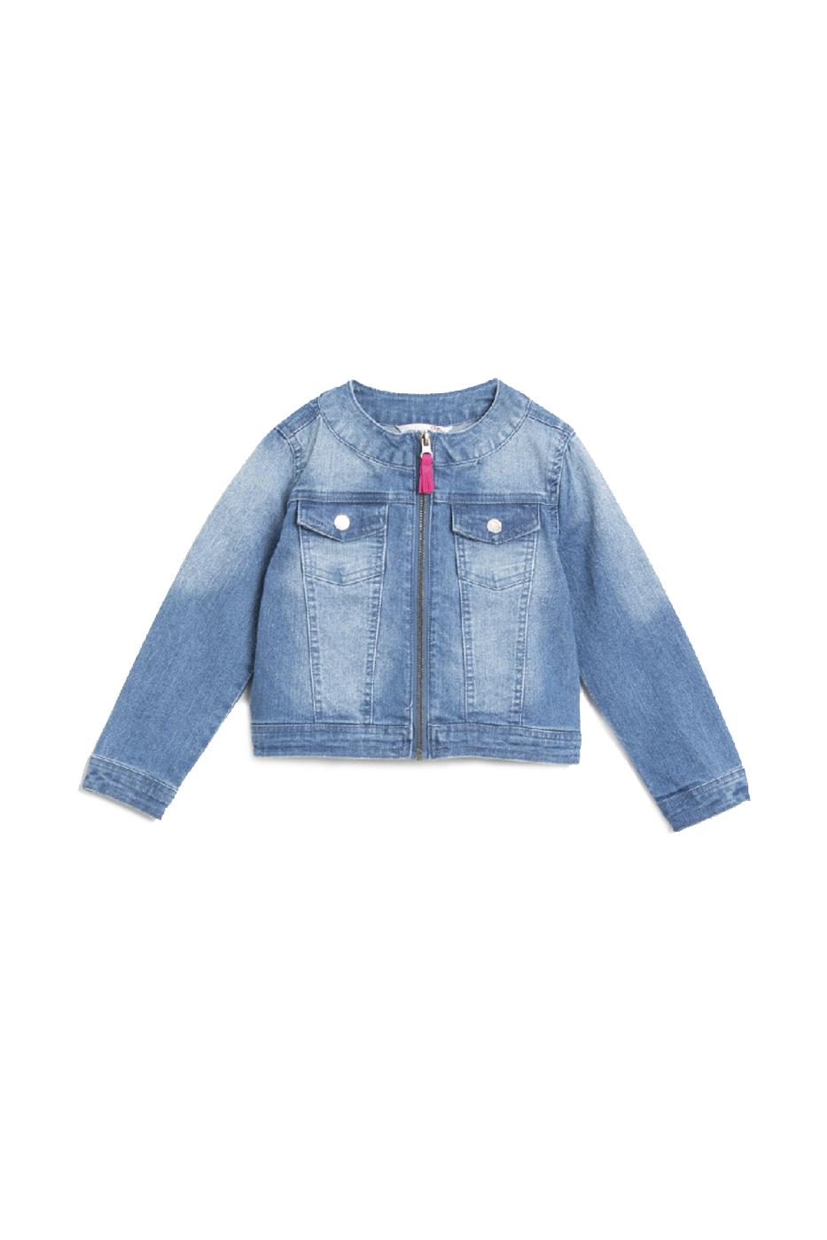Купить W20152301HOL, Ветровка для девочки COCCODRILLO цв.синий р.116, Куртки для девочек