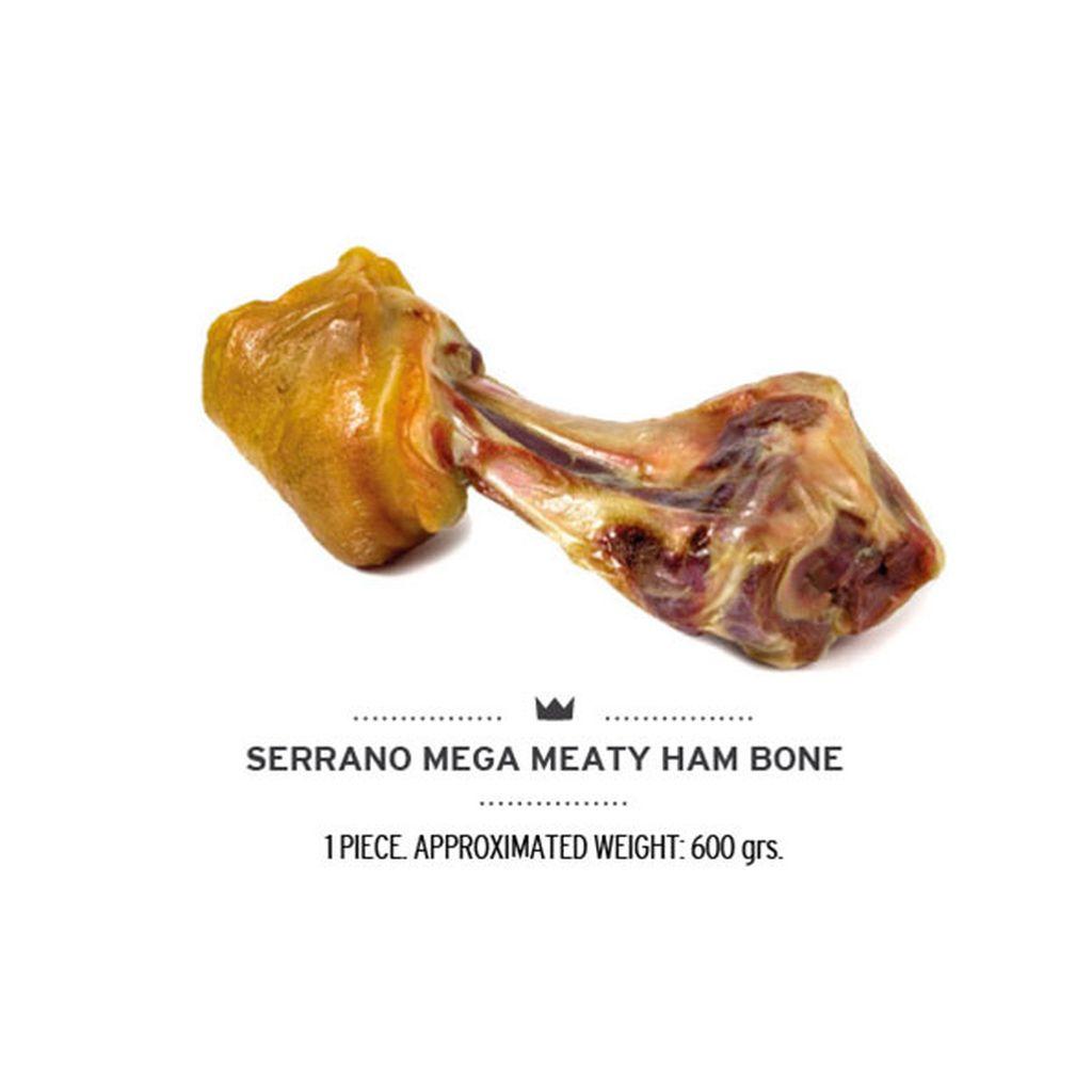Лакомство для собак Mediterranean Ham Bones Гигантская кость, свинина, 550г