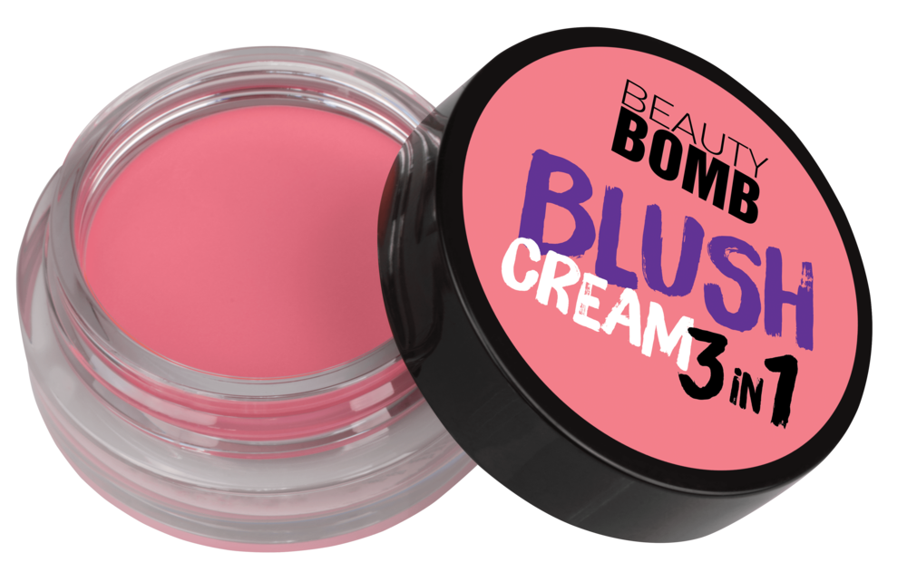 Кремовые румяна Beauty Bomb 3 in