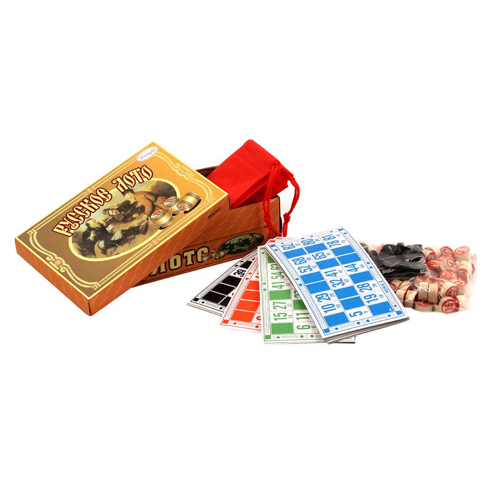 Купить Русское лото Tongde W9502, Семейные настольные игры