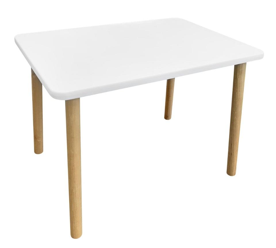 Детский стол Русэкомебель Сканди белый
