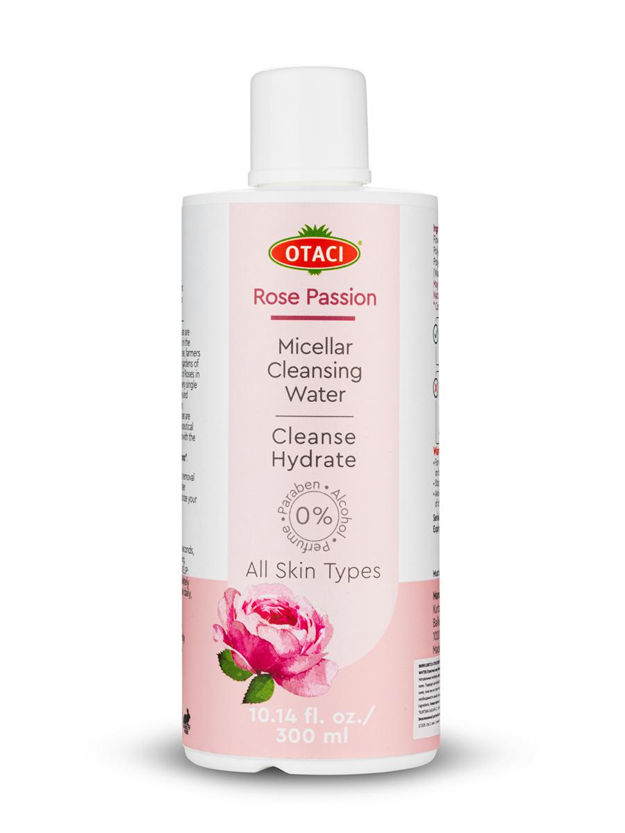 Неповторимая мицеллярная вода OTACI из экстракта дамасской розы для всех типов кожи, 300мл  - Купить