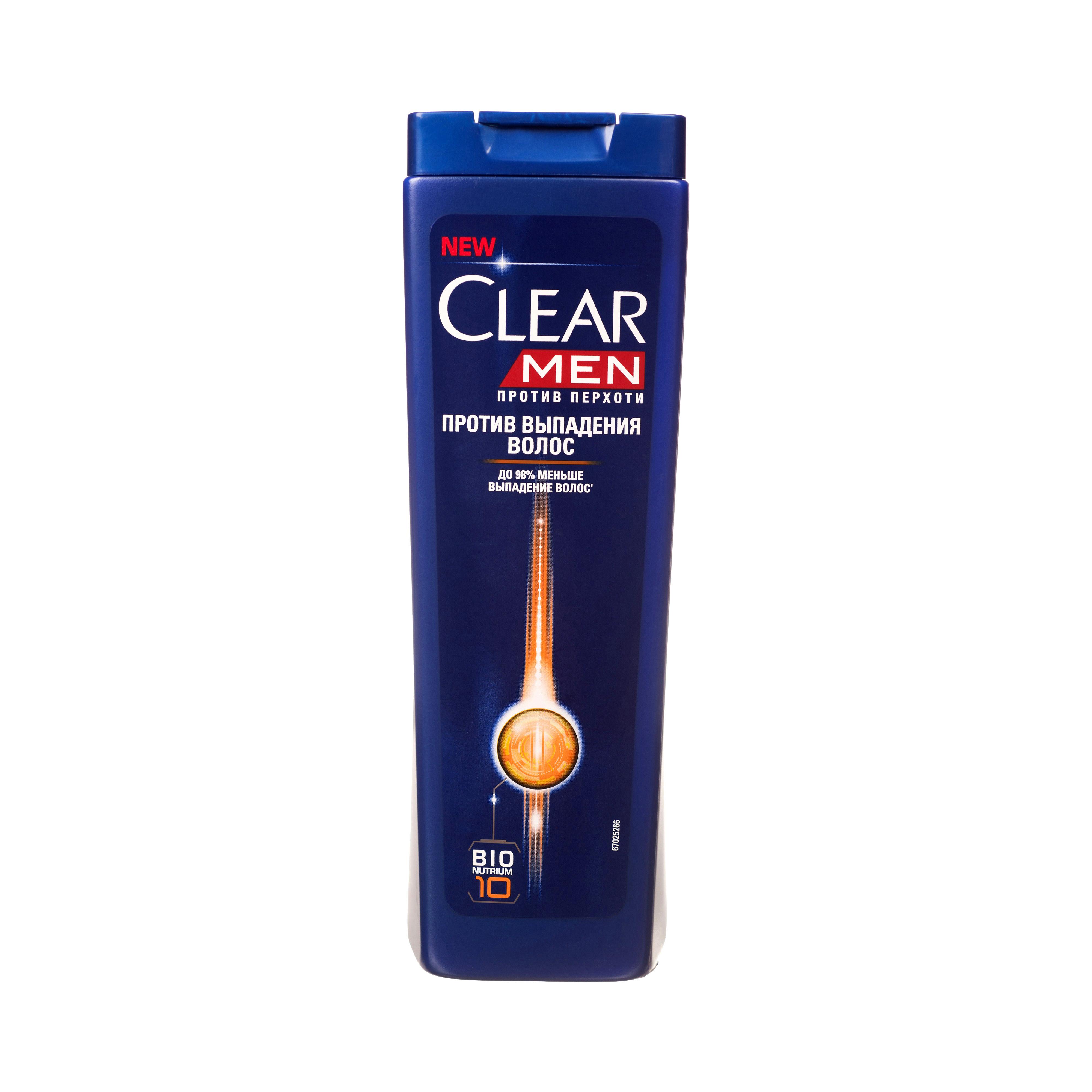 Шампунь Clear Men против перхоти против выпадения волос 400 мл фото
