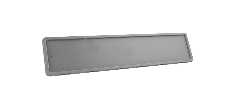 Рамка номерного знака Серая силикон