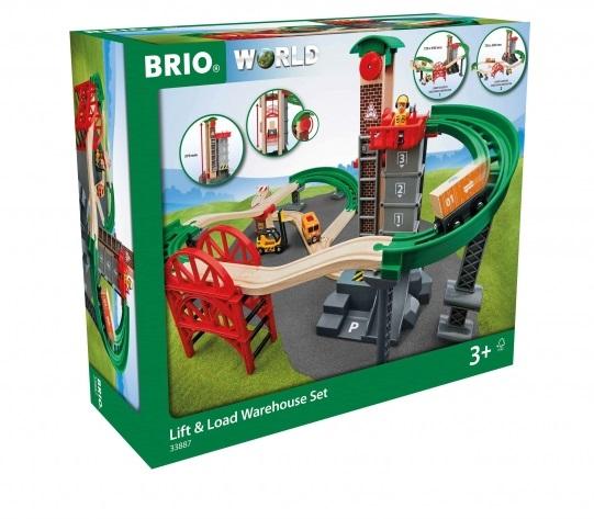 Купить Brio набор железнодорожная логистическая станция, Набор Brio Железнодорожная логистическая станция,