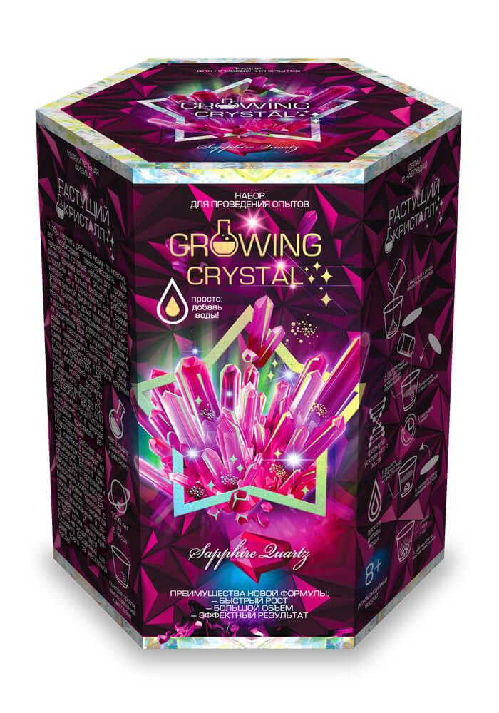 Купить DANKO TOYS Набор для проведения опытов Growing Crystal, набор 8 GRK-01-08, Наборы для опытов