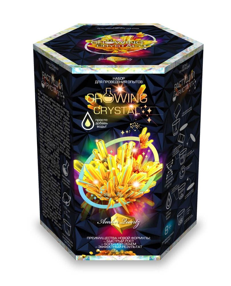 Купить Набор для проведения опытов Growing Crystal, набор 7 GRK-01-07, Danko Toys, Наборы для опытов