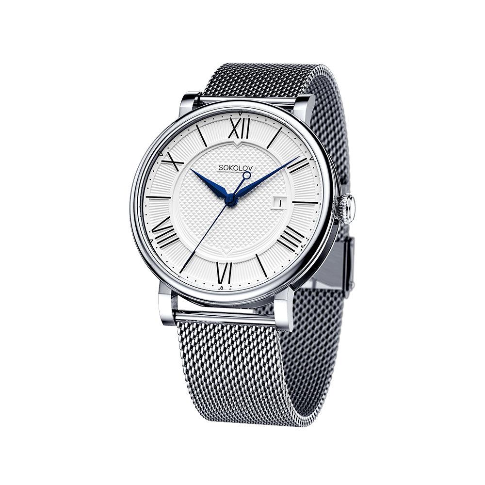 Мужские стальные часы SOKOLOV 317.71.00.000.01.01.3