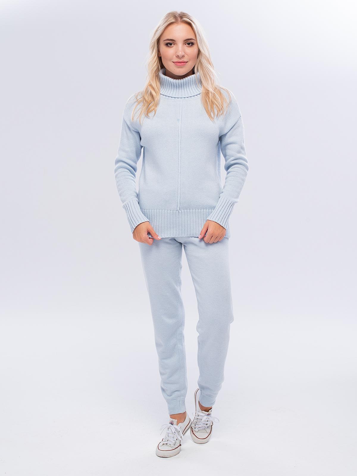 Костюм женский Corona Style 20410 голубой M