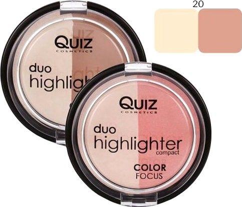 Хайлайтер Quiz Color Focus DUO №20