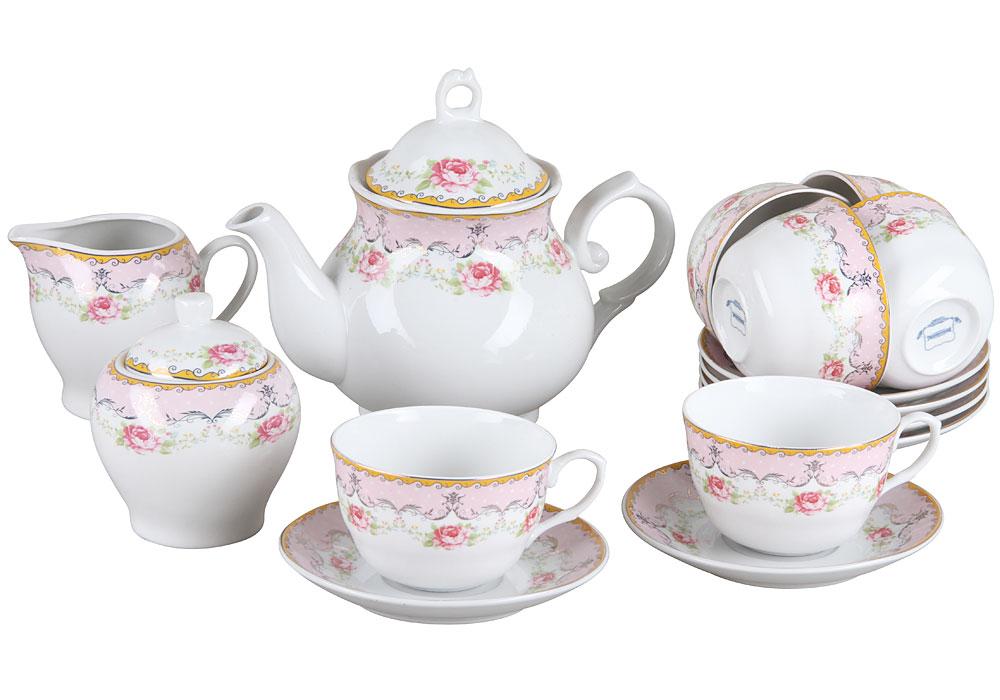 Чайный набор, 15 предметов Rosenberg RPO-115043 фото