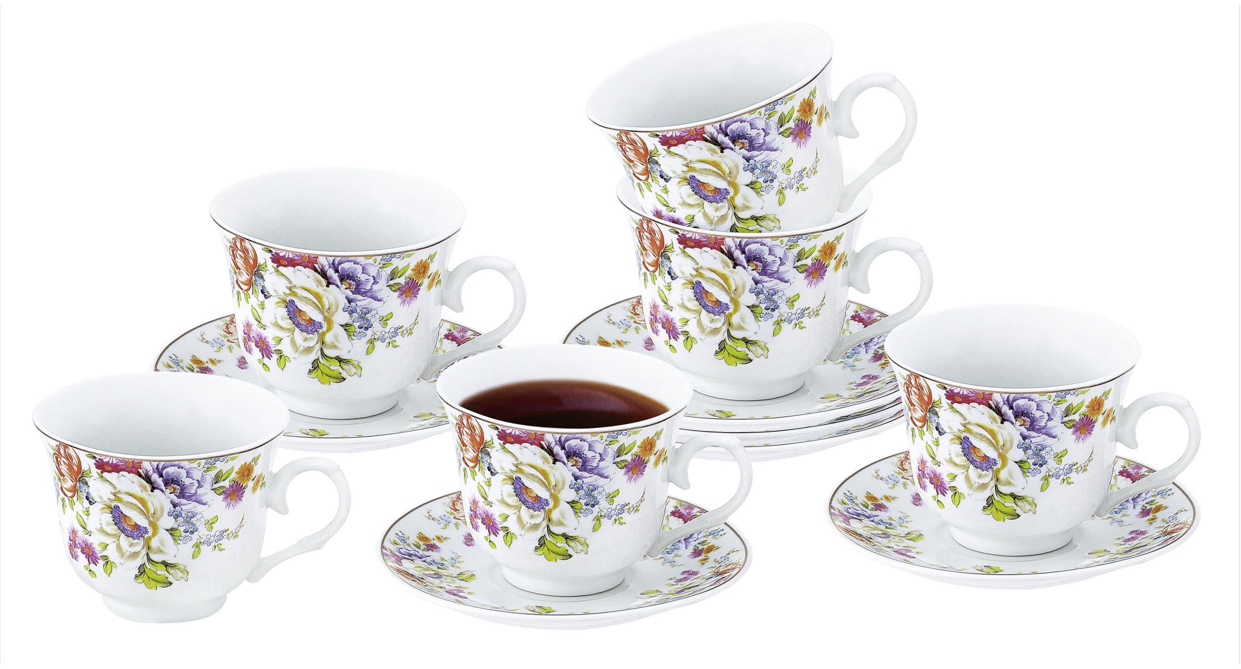 Чайный набор, 12 предметов Rosenberg RPO-115042 фото