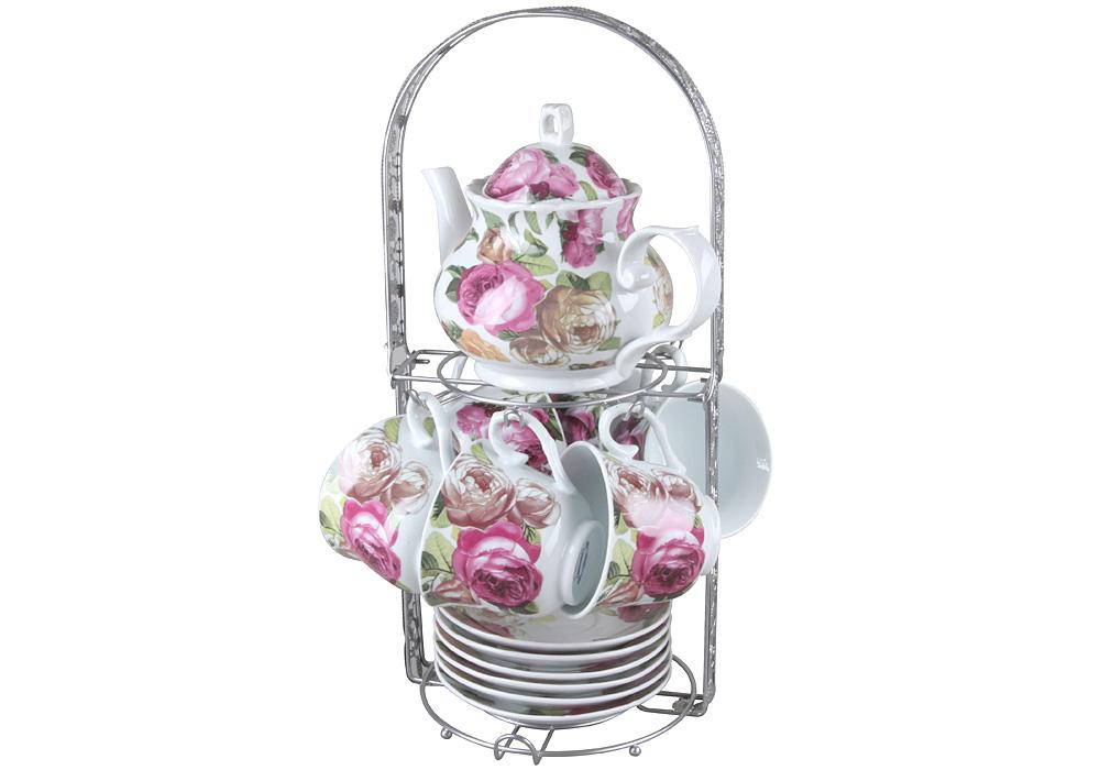 Чайный набор, 15 предметов Rosenberg RPO-115016-15 фото