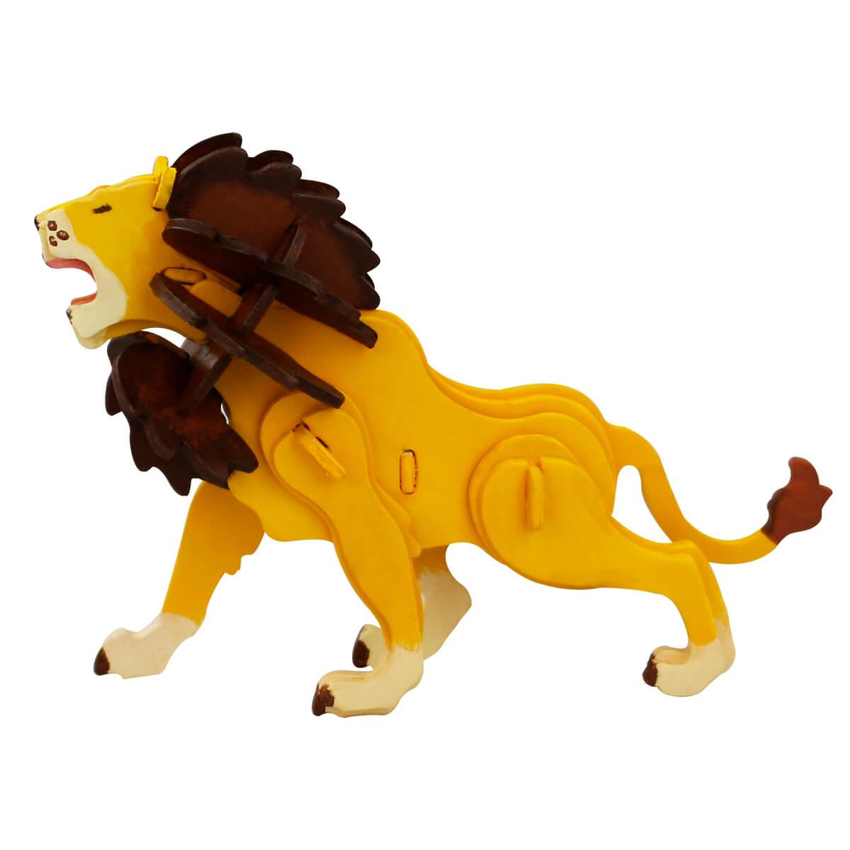 3Д пазл раскраска ТМ Цветной Лев