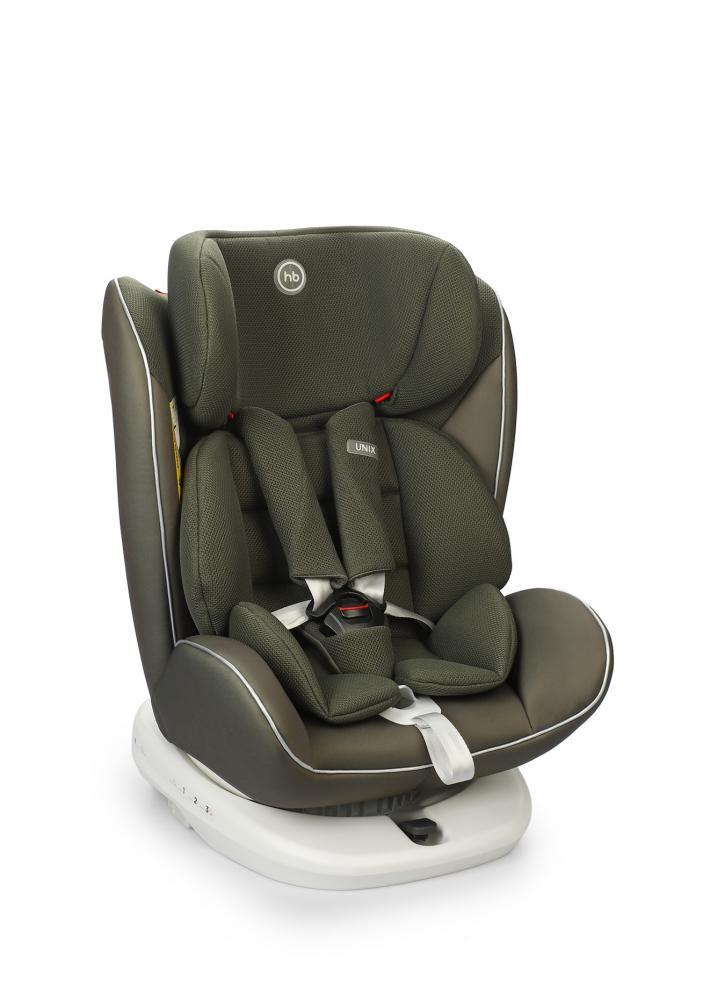 Купить Автокресло Happy Baby Unix Green dark green гр. 0+/1/2/3, Детские автокресла