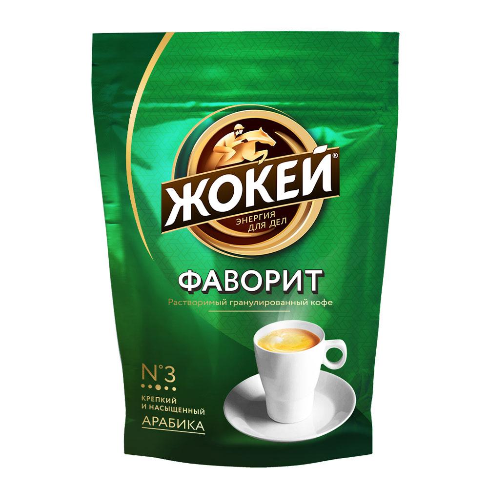 Кофе растворимый Жокей Фаворит 150 г фото