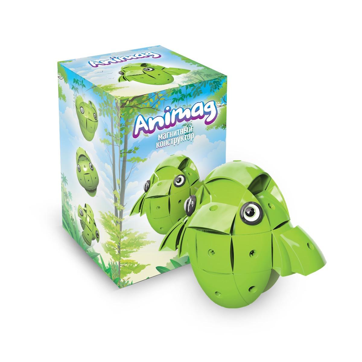 Конструктор детский магнитный Animag Зеленый