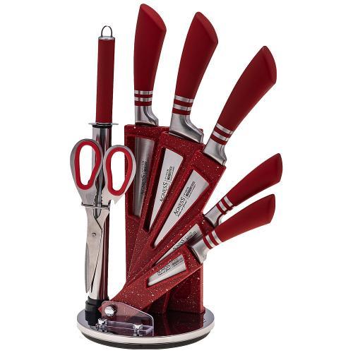 Набор ножей AGNESS, Red Star, 8 предметов