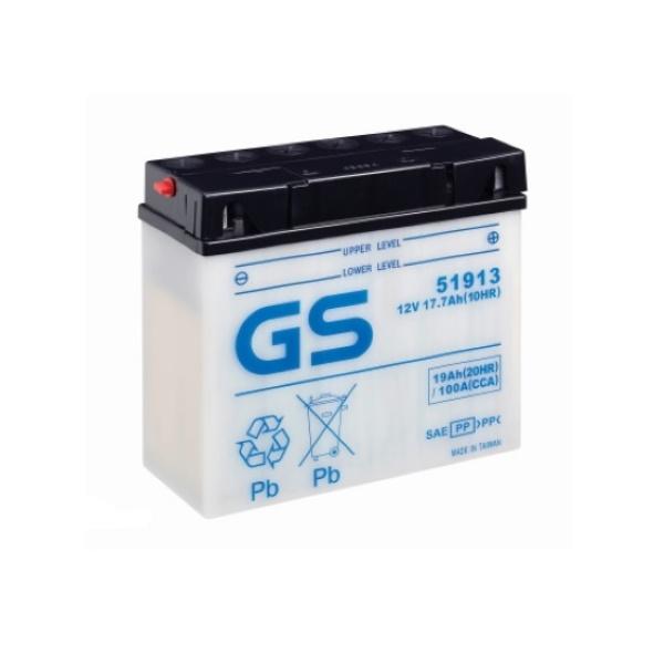 Аккумулятор GS 51913 (б/э) 1350.