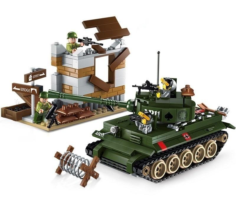Купить ENLIGHTEN BRICK Конструктор Танк (214 деталей) 1711, Конструкторы пластмассовые