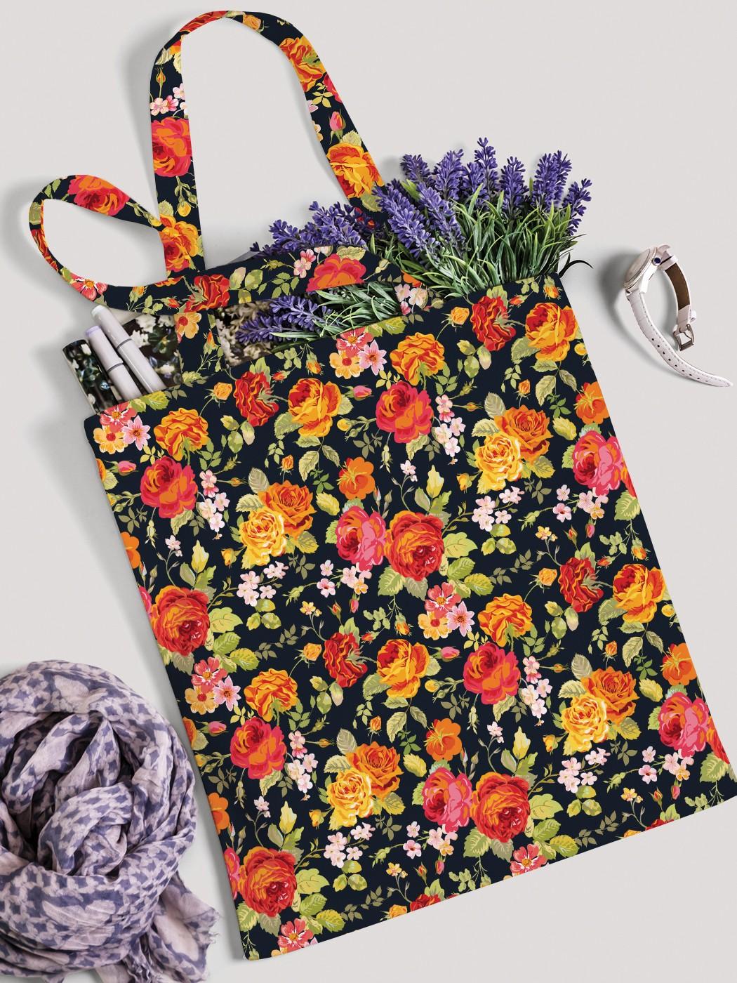 Сумка женская JoyArty Цветочный ковер