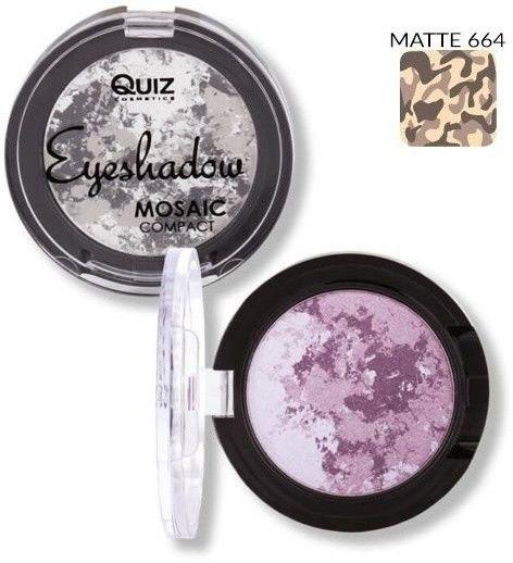 Купить Тени для век Mosaic 1-цветные №664 Quiz