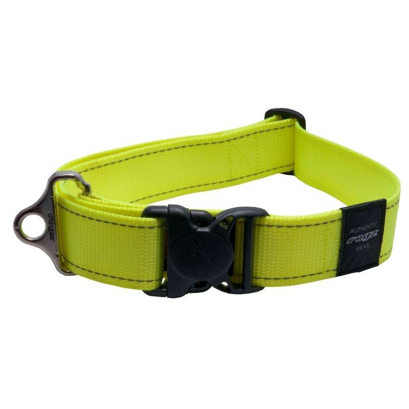 Ремень безопасности для собак Rogz Utility, желтый,
