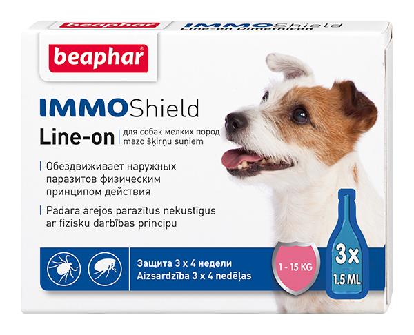 Капли для мелких собак против паразитов Beaphar