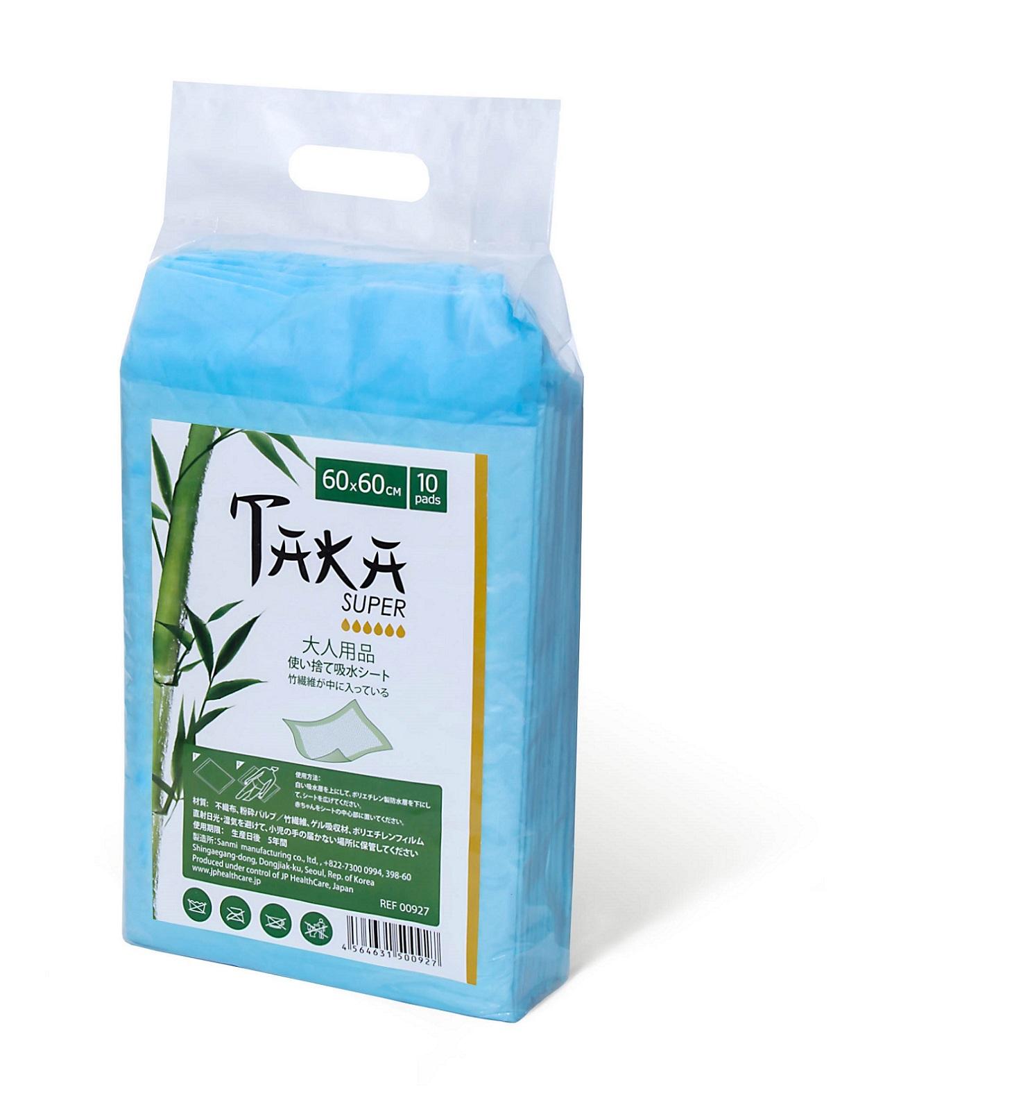Пеленки впитывающие Taka Супер для взрослых бамбуковые