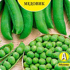Семена Горох Медовик, 25 г, АЭЛИТА фото