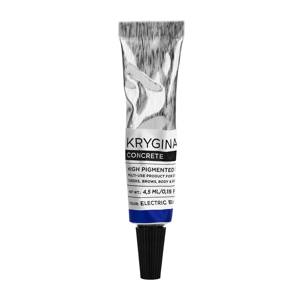 Кремовый пигмент Krygina Cosmetics Concrete Electric Blue