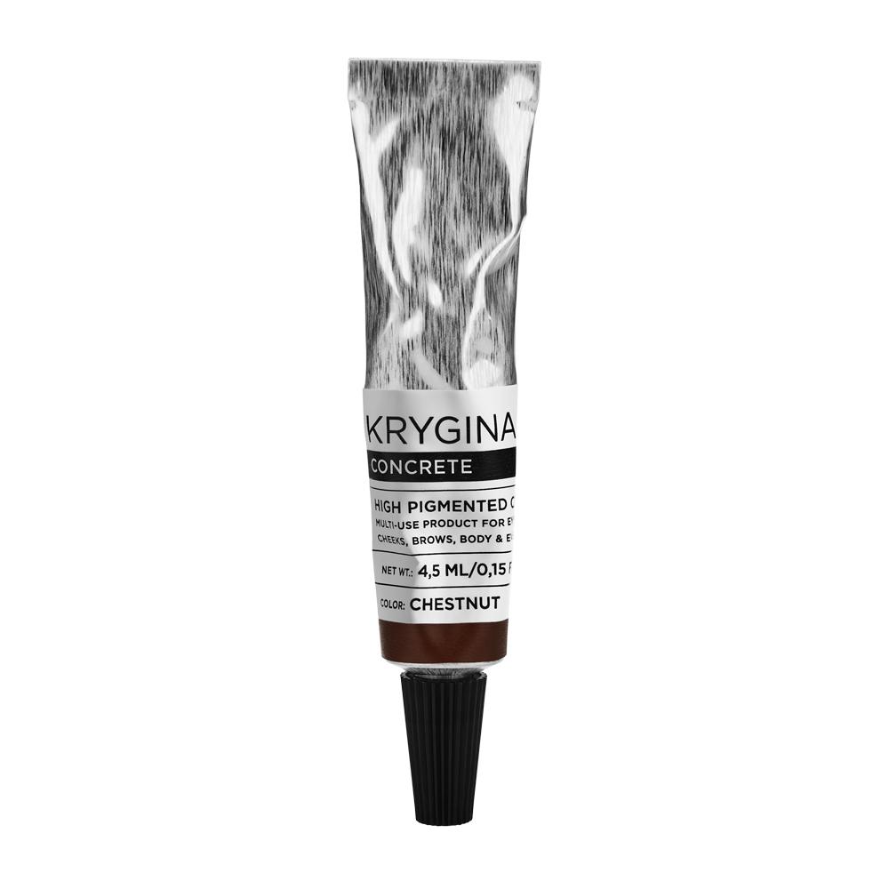 Кремовый пигмент Krygina Cosmetics Concrete Chestnut