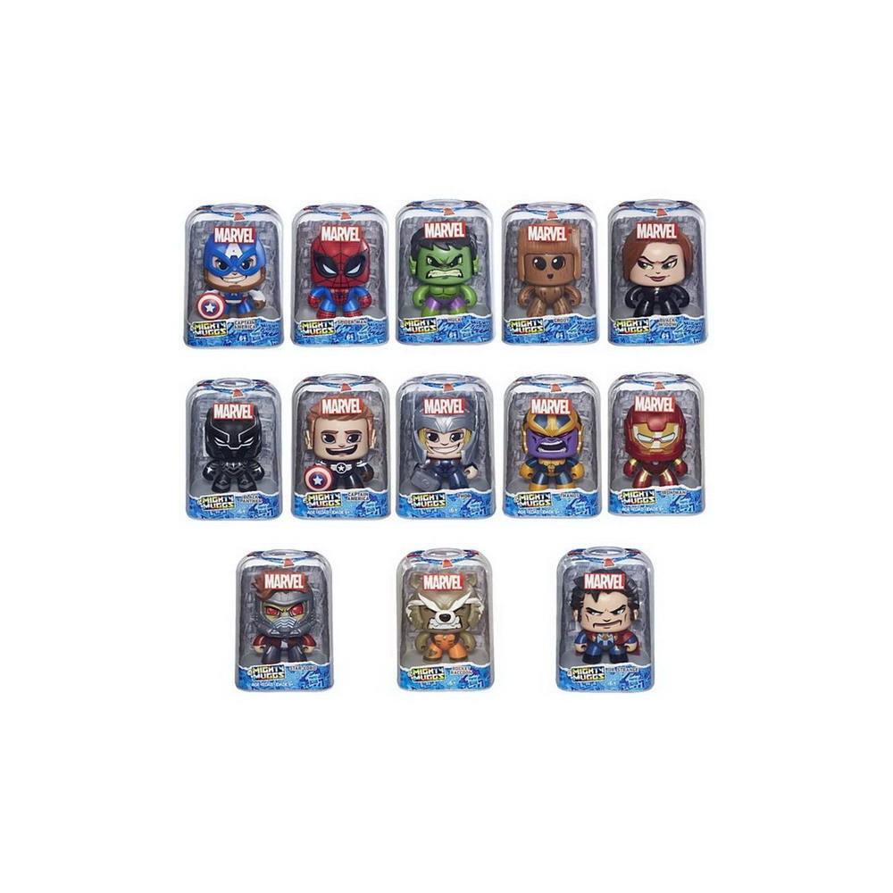 Купить Игрушка Hasbro Avengers фигурки коллекционные МАРВЕЛ (Mighty mugs) в ассортименте,