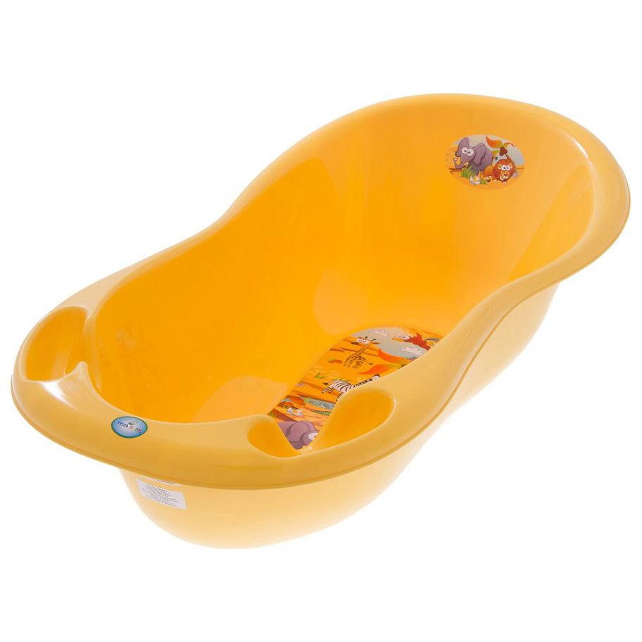 Купить Ванночка пластиковая TEGA BABY Safari 102 см желтая,