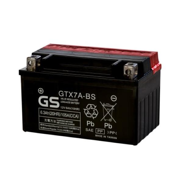 Аккумулятор GS GTX7A-BS 413.