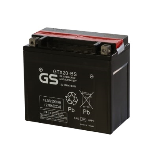 Аккумулятор GS GTX20-BS 409.