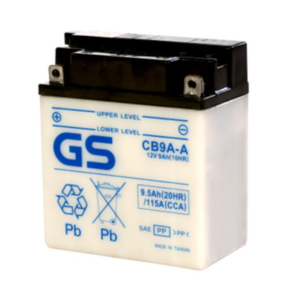 Аккумулятор GS CB9A-A (б/э) 395.
