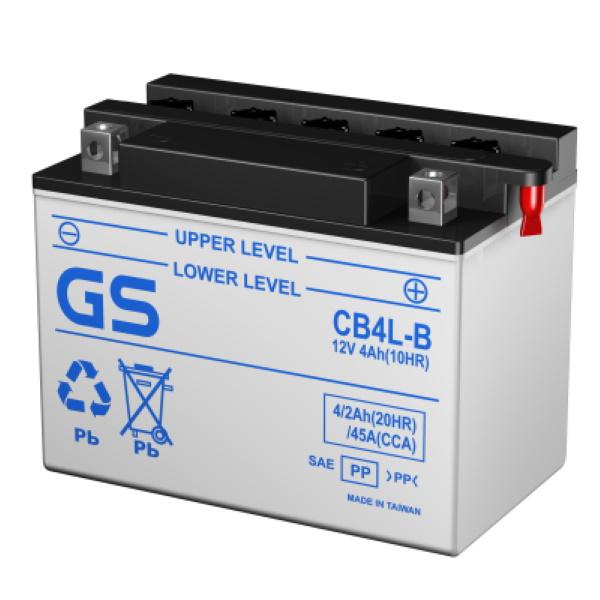 Аккумулятор GS CB4L-B 391.