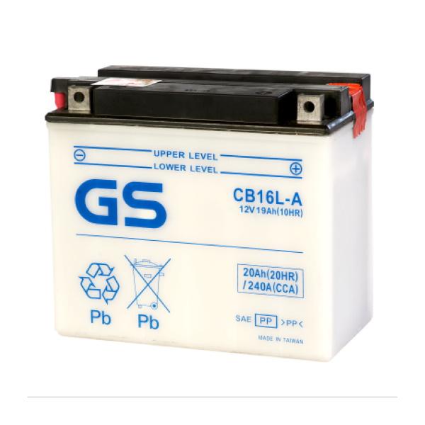 Аккумулятор GS CB16L-A (б/э) 388.