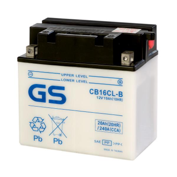 Аккумулятор GS CB16CL-B (б/э) 377.