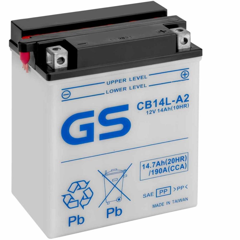 Аккумулятор GS CB14L-A2 375.
